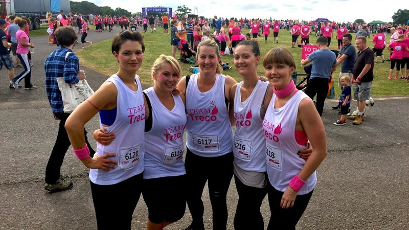 Pretty Muddy Race for Life