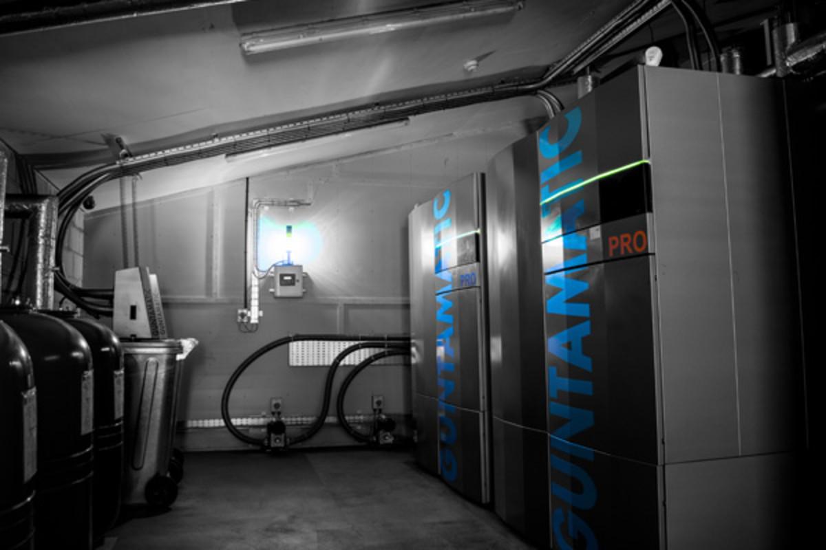 Dawlish Leisure Centre Boiler Room