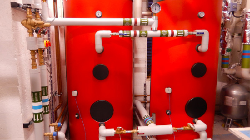 Dawlish Leisure Centre Biomass Thermal Stores