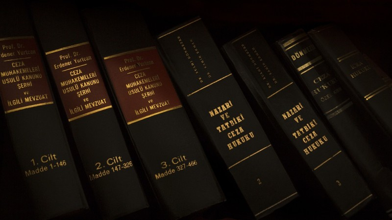 Justice law books