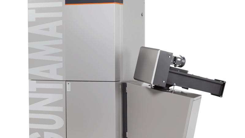 Guntamatic Powerchip biomass boiler