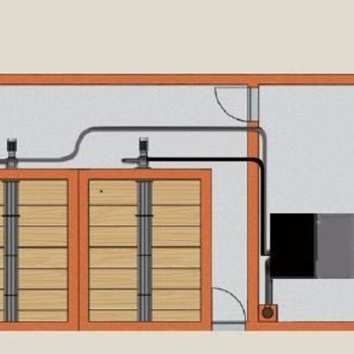 Pro biomass boiler plant room design